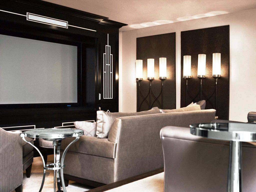 Home Theater Wall Sconces 30 The Best Home Theater Wall Art