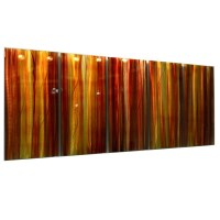20 Photos Red And Yellow Wall Art