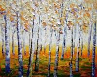 Aspen Tree Canvas #YT39 | Wendycorsistaubcommunity