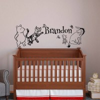 Classic Winnie The Pooh Wall Stickers For Nursery ...