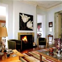 20 Ideas of Fireplace Wall Art