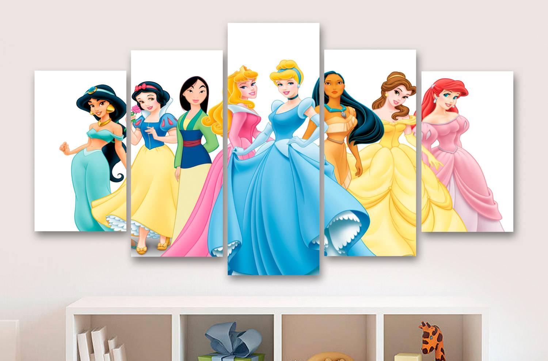 Top 20 of Disney Princess Wall Art