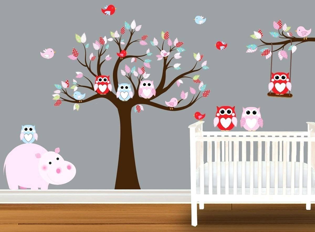 15 Best Ideas of Owl Wall Art Stickers