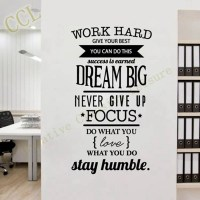 20 Best Ideas of Inspirational Wall Decals For Office