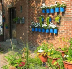 Small Of Garden Wall Decor Ideas