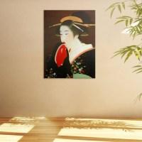 20 Collection of Geisha Canvas Wall Art