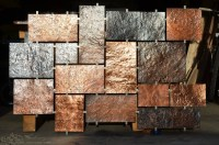 20 Inspirations of Hammered Metal Wall Art
