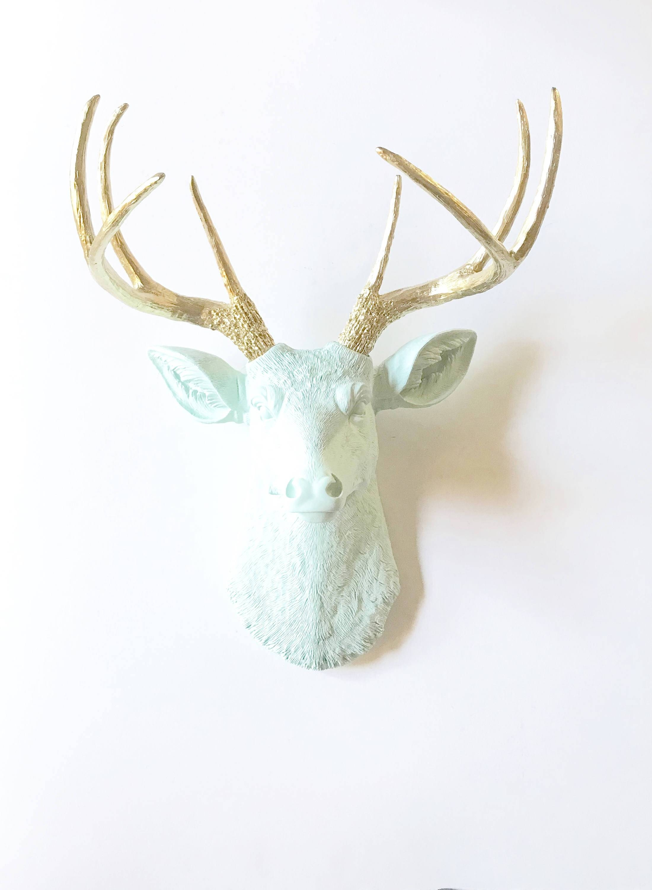 Faux Stag Head Top 20 Of Stag Head Wall Art