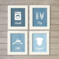 25 Inspirations of Laundry Room Wall Art Decors