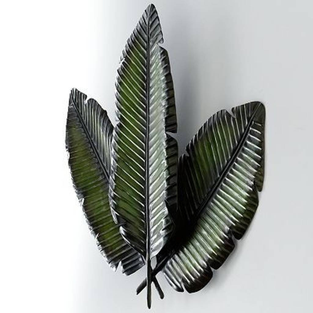 Leaf Metal Wall Art 2018 Best Of Palm Leaf Wall Decor