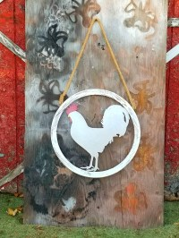 Best 25+ of Metal Rooster Wall Decor