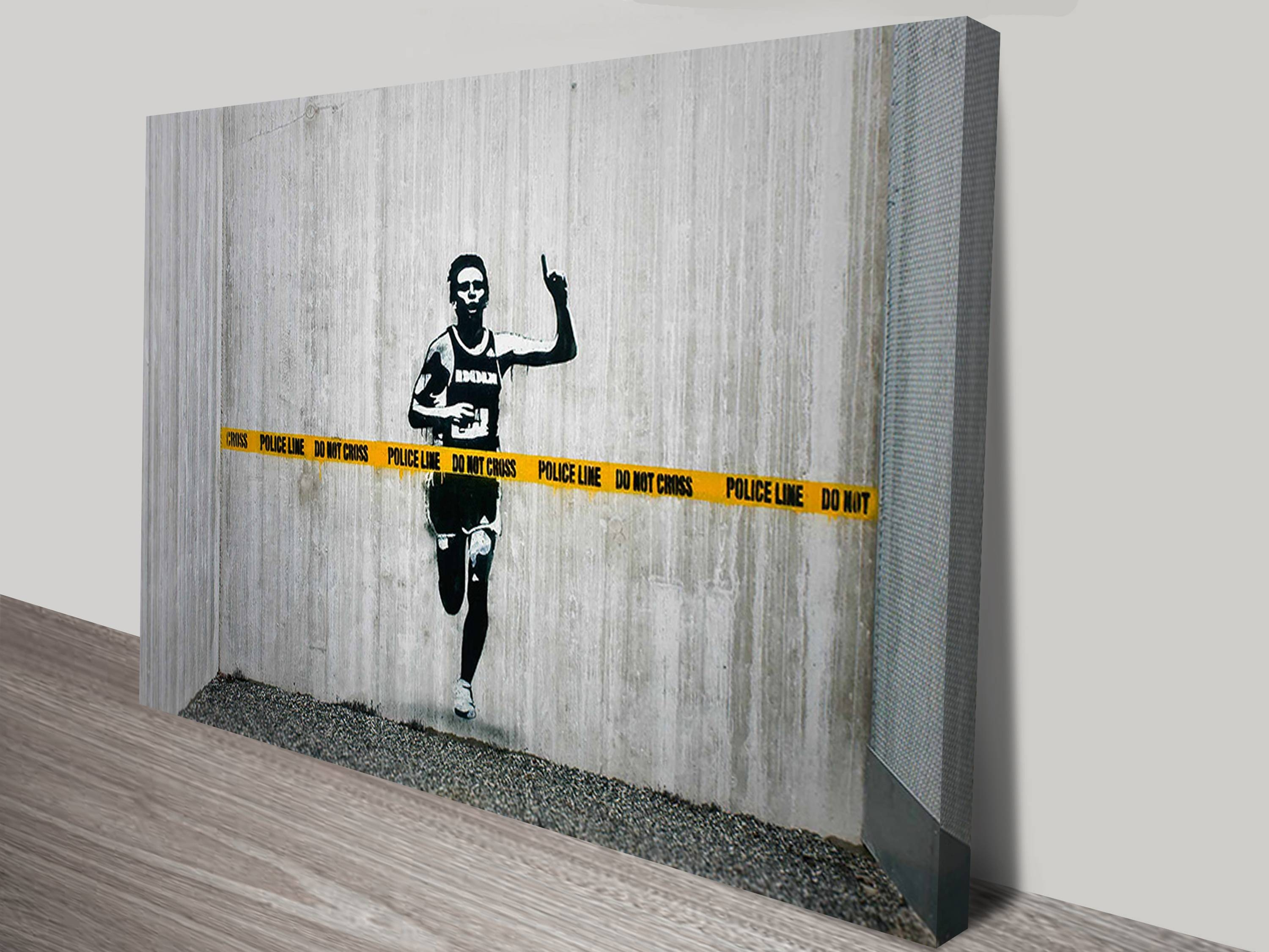 Banksy Canvas Art 20 Best Collection Of Banksy Canvas Wall Art