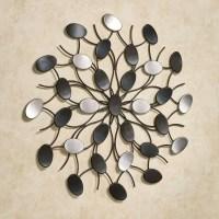 25 Ideas of Metallic Wall Art