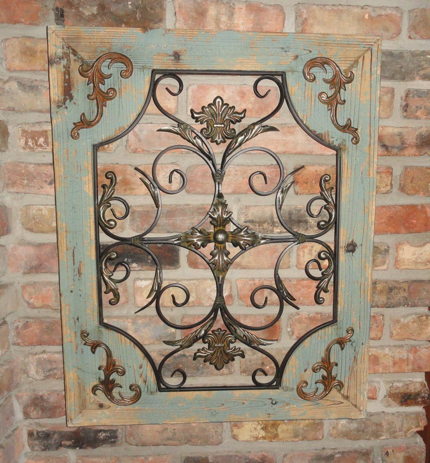 Rustic Outdoor Metal Wall Art 30 Inspirations Of Country Metal Wall Art