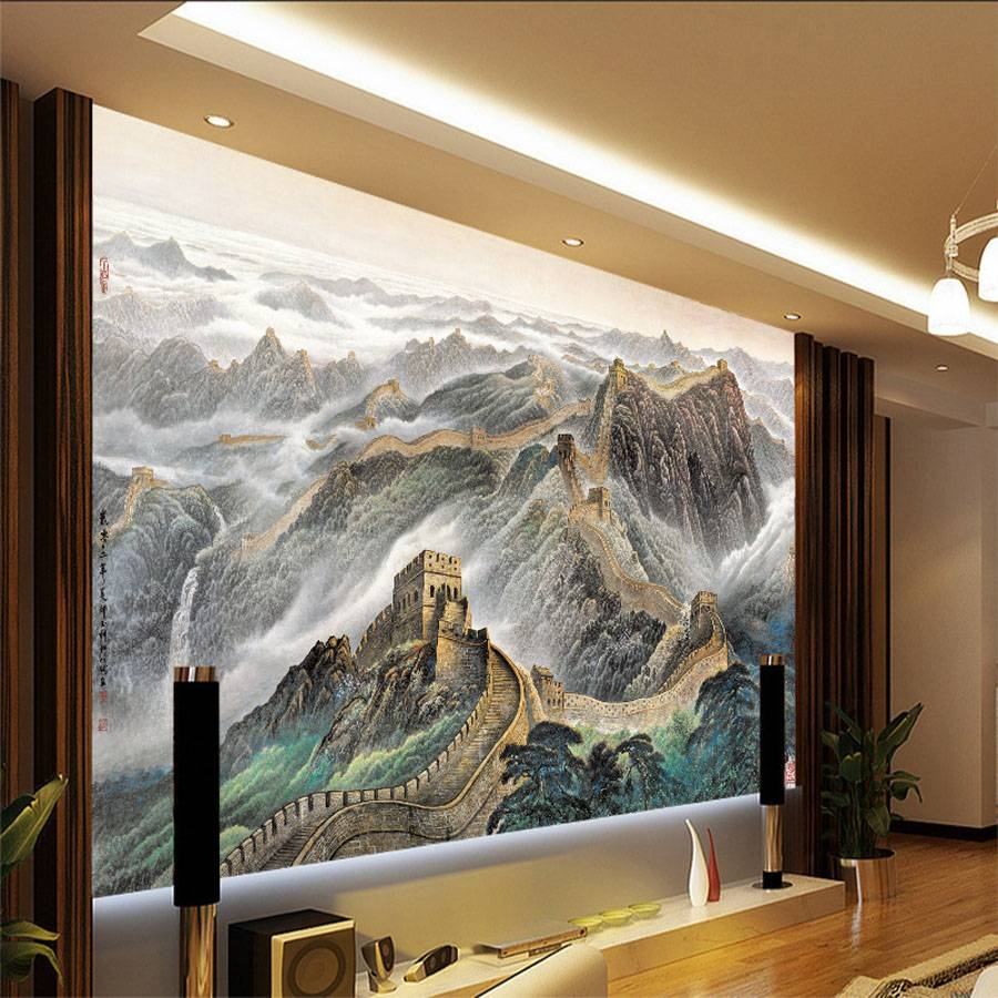 20 Best Collection of Great Wall Of China 3D Wall Art