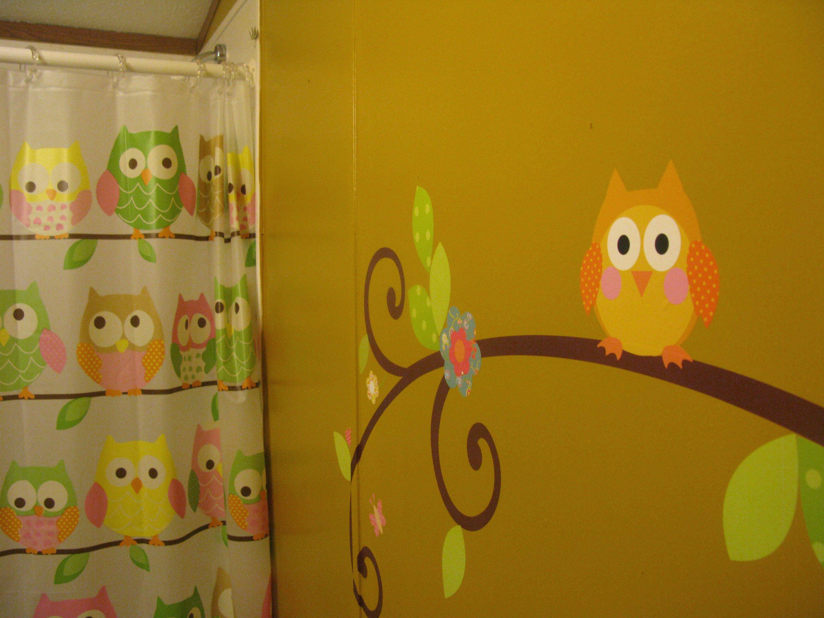 Owl Decor For Bathroom 25 Ideas Of Kohls Wall Decals
