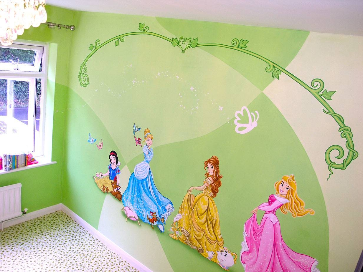 Magnificent Disney Princess Foam Wall Decorations Festooning - Wall ...