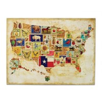20 Best United States Map Wall Art