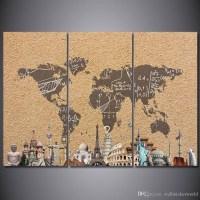 20 Best Ideas of Vintage World Map Wall Art