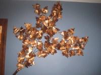 Maple Leaf Branch Metal Wall Art - newlibrarygood.com