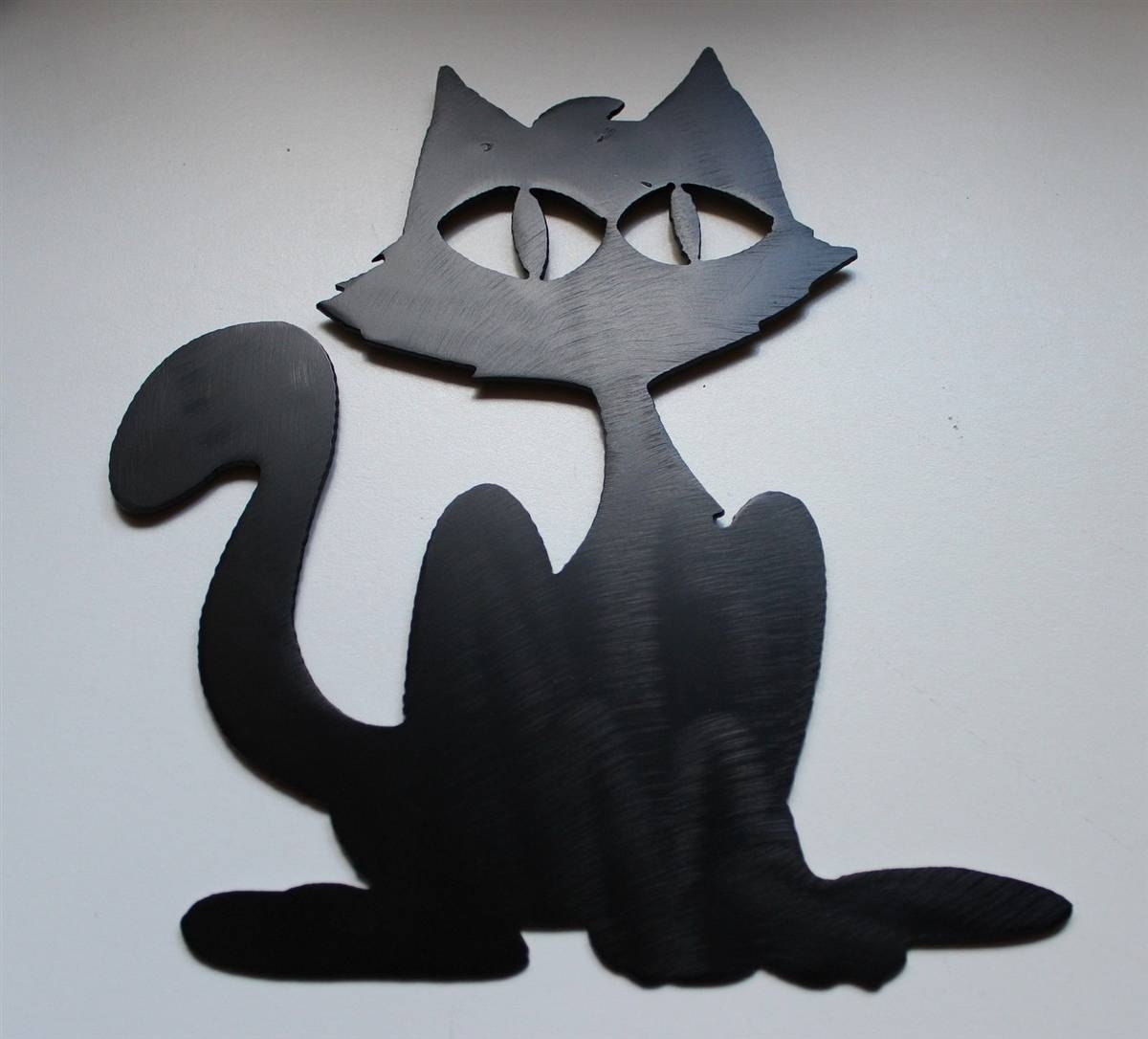 Cat Wall Art Metal 20 Photos Cat Metal Wall Art