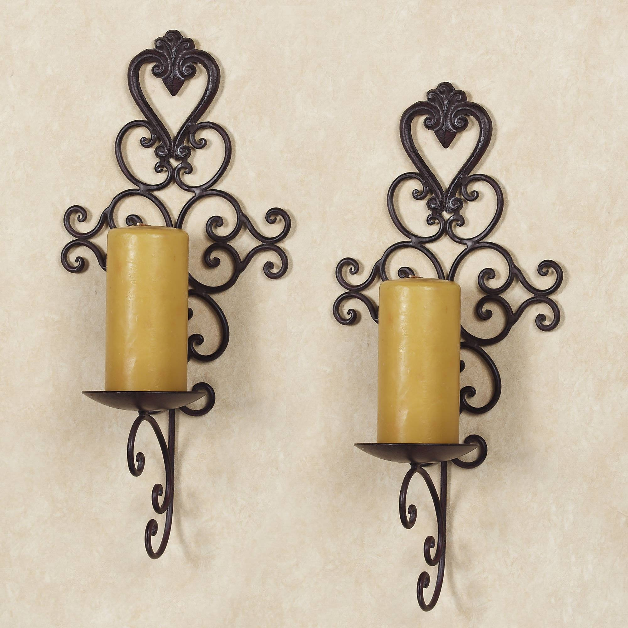 20 Best Metal Wall Art With Candle Holders