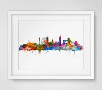 20 Photos City Map Wall Art