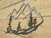 2018 Best of Mountains Metal Wall Art