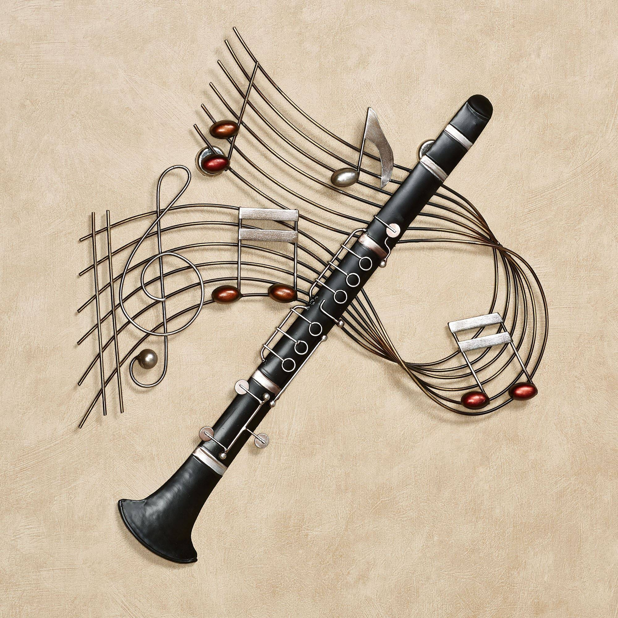 Musical Wall Art Metal 20 Best Musical Instruments Metal Wall Art