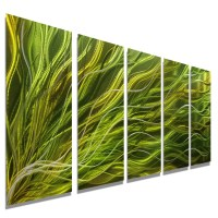 20 Collection of Green Metal Wall Art