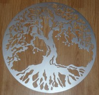 2018 Best of Large Tree Of Life Metal Wall Art