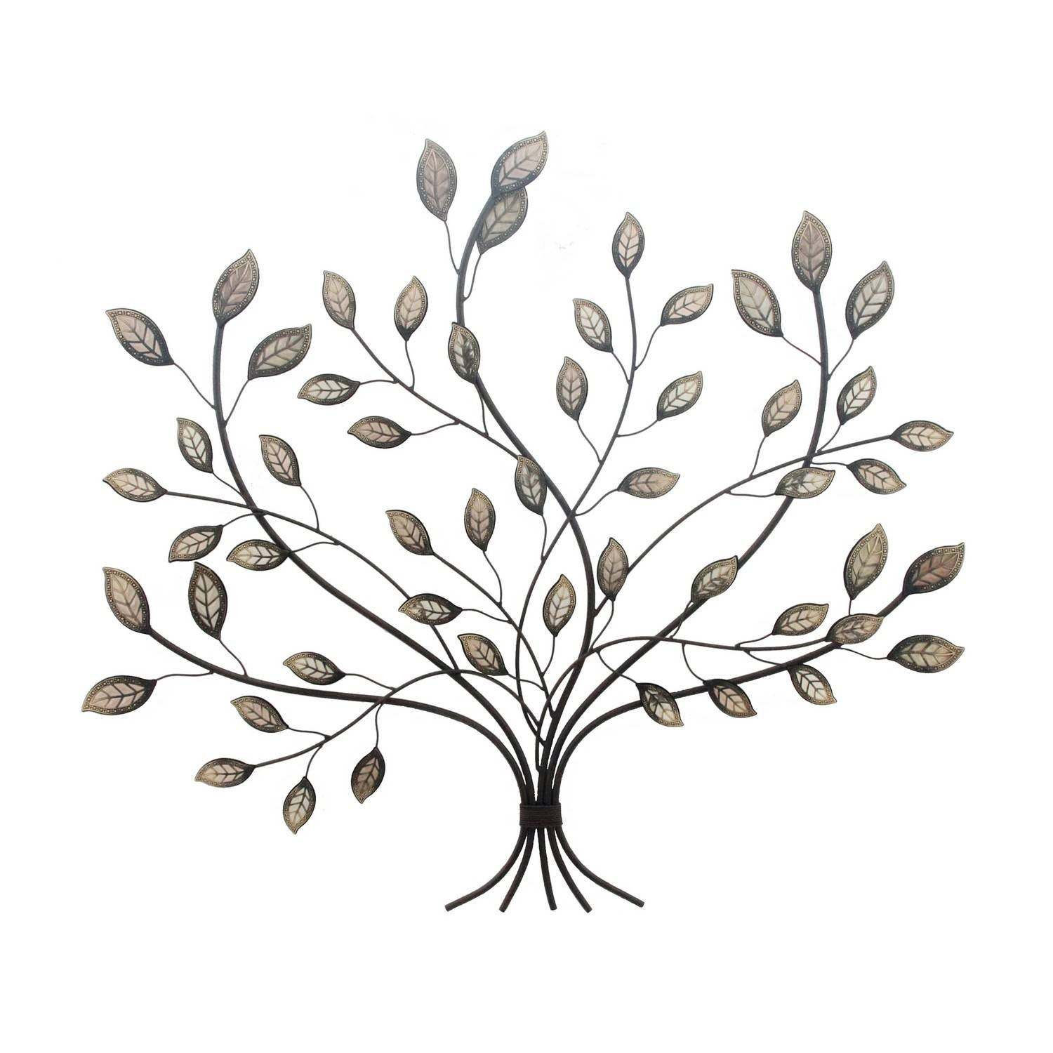 Leaf Metal Wall Art 20 Best Collection Of Leaves Metal Wall Art