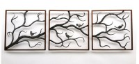 20 Best Collection of Birds On A Branch Metal Wall Art