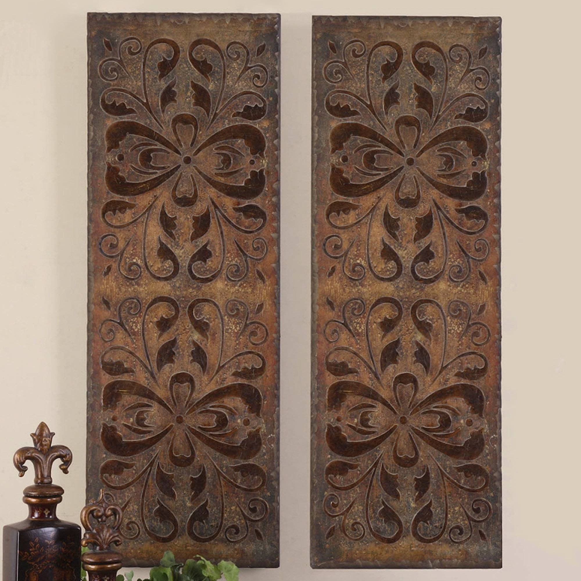 Wood Decorative Wall Art Best 20 43 Of Decorative Metal Wall Art Panels