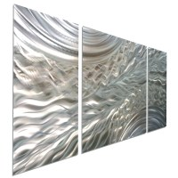 20 Inspirations of Brushed Metal Wall Art