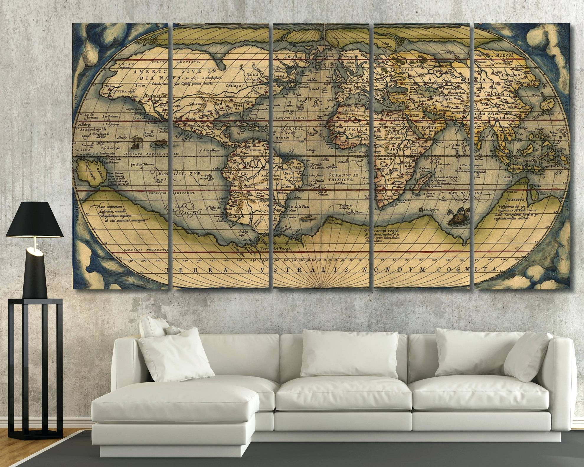 African Wooden Wall Art 20 The Best Africa Map Wall Art