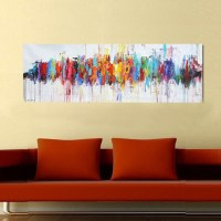 20 Ideas of Modern Abstract Oil Painting Wall Art
