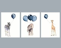 20 Best Collection of Nursery Animal Wall Art