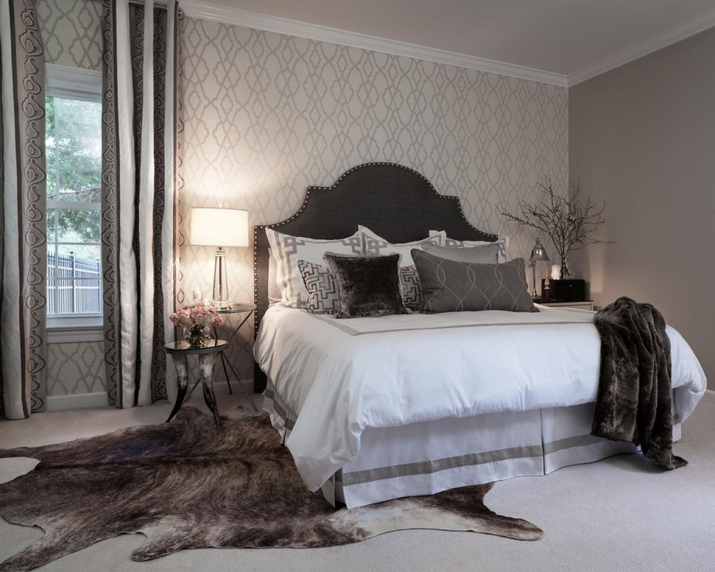 Wallpaper Accent Wall Bedroom 15 Inspirations Of Wallpaper Bedroom Wall Accents