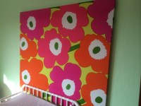 15 Photos Marimekko Stretched Fabric Wall Art