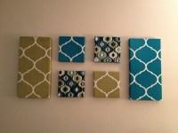 15 Ideas of Fabric Wall Art Canvas