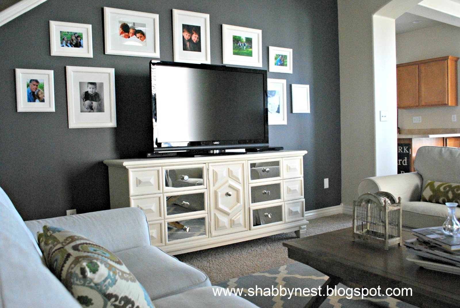 Decor For Gray Walls 15 Best Ideas Of Wall Accents For Grey Room