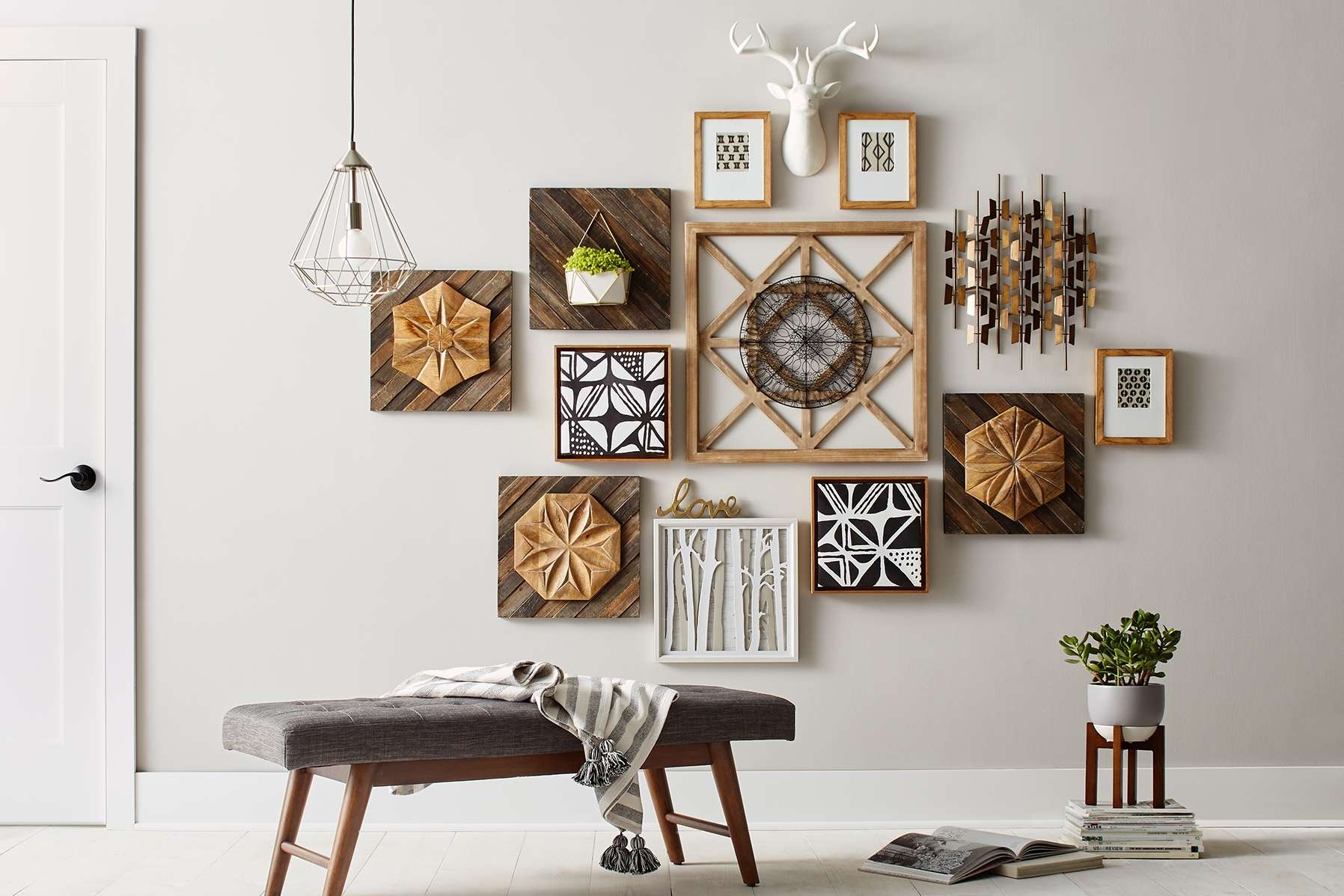 Home Interior Wall Decorations 15 Photos Modern Wall Accents