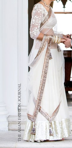 manish malhotra store review my manish civil ceremony lengha civil wedding ceremony dresses Manish Malhotra Real Bride Wedding Shaadi Lengha The Asian Fashion Journal
