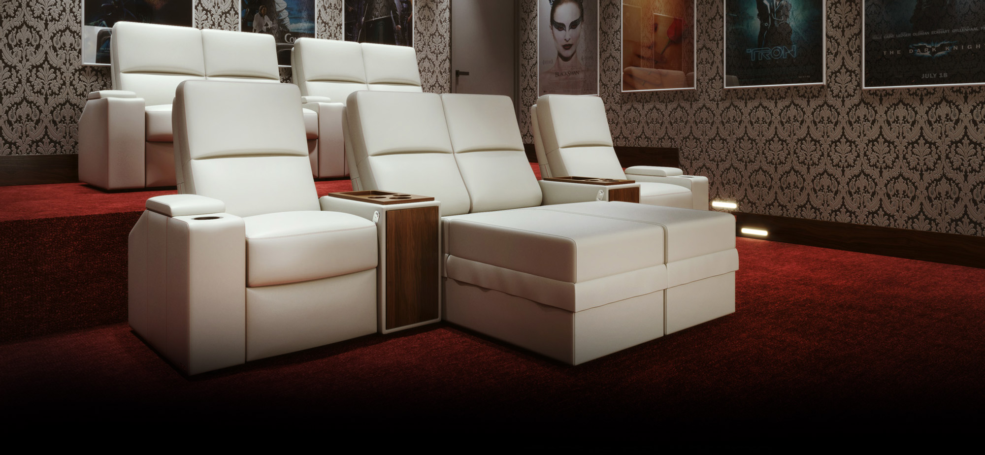 Moovia Kinosessel Preis Theater Chair Venice By Moovia Custom Home Cinema Seating