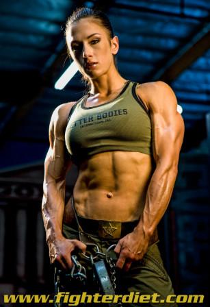Girl Abs Wallpaper Fighter Diets Pauline Nordin Talks With Theathleticbuild Com
