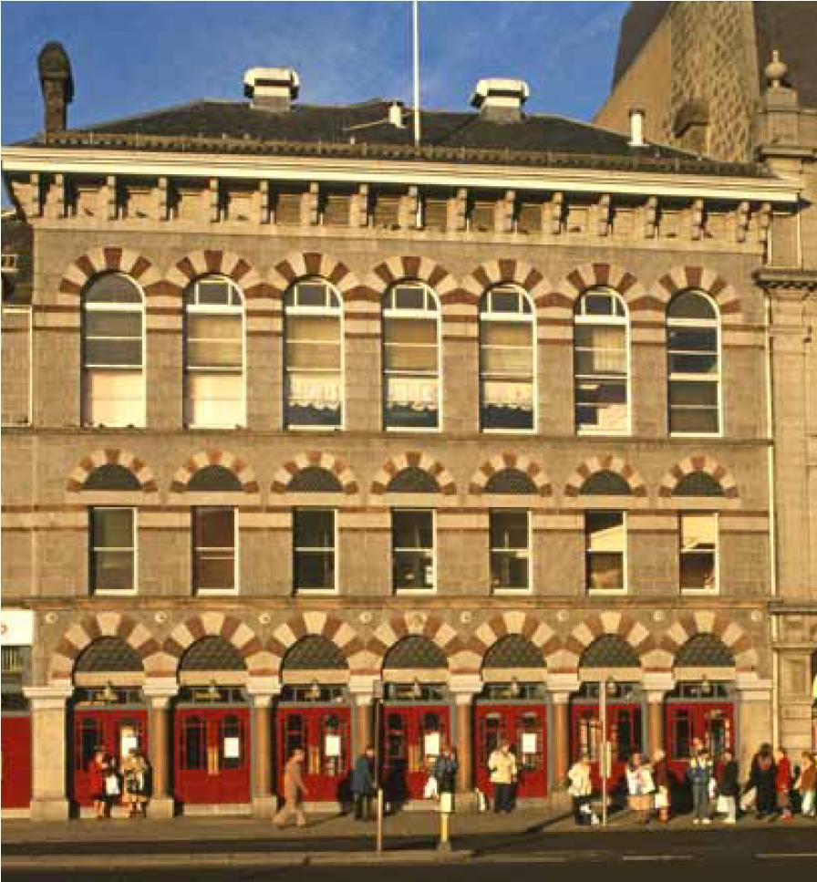 Tickets For Tivoli Theatre Aberdeen Theatre Database Theatre Architecture Database Projects