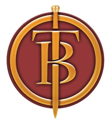 Logo de THEATRUM BELLI (une création du graphiste alsacien Jean-François KLOTZ)
