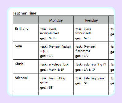 Monthly Calendar Templates For Teachers 2017 2018 Traceable Blank Monthly Calendar Templates Lesson Planning For An Autism Classroom The Autism Helper
