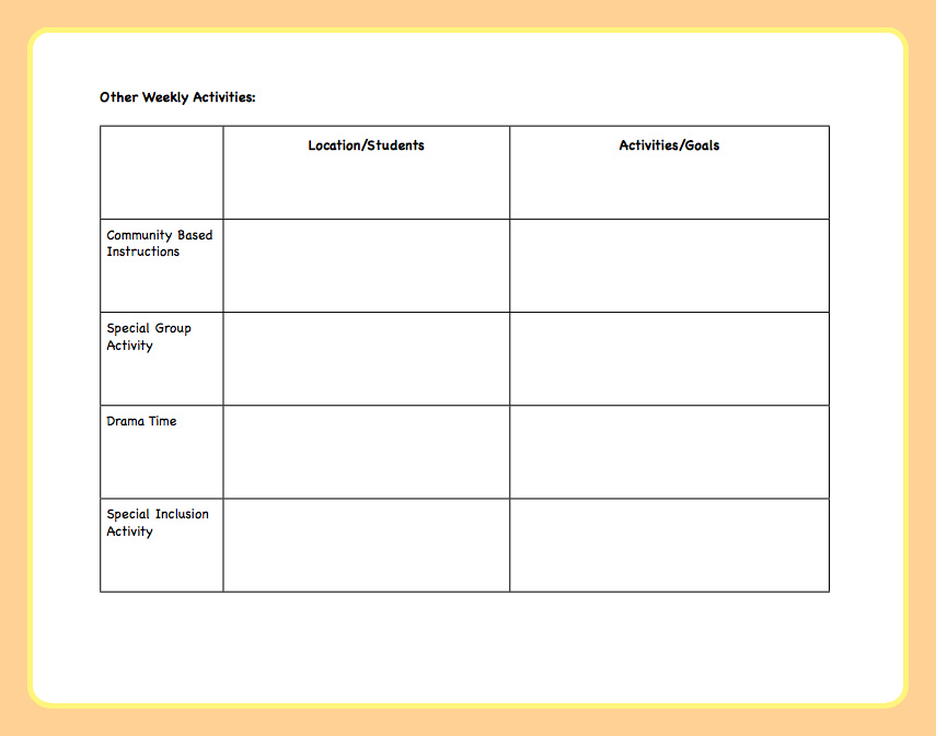 Lesson Planning for an Autism Classroom - The Autism Helper